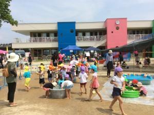 なでしこ幼稚園で夏の遊びを楽しもう!!(リビング新聞でもご案内しております♪)